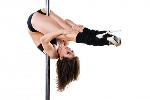 Sexy Cora beim Ficken und Pole Dance